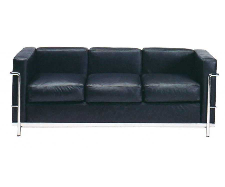 I❶I LC2 Divani 3-seater - Made in Italy